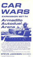 Expansion Set #4 - Armadillo Autoduel Arena