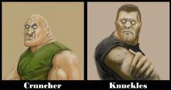 Gangland - Cruncher & Knuckles