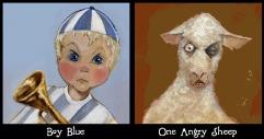 Nursery Wars - Boy Blue & One Angry Sheep