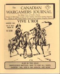 "#26 ""Vive L'Roi Miniatures Rules, ASL Scenario, Napoleon's Battles Scenario"""