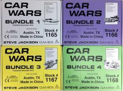 Car Wars - Pocketbox Kickstarter Bundle - 40 Items!!