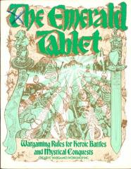 Emerald Tablet, The - Wargaming Rules for Heroic Battles & Mystical Conquests