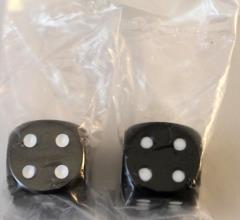 D6 16mm Black w/White (2)