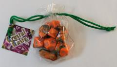 Full Poly Set Hybrid Orange w/Green (10)
