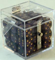 d6 12mm Purple w/Gold (27)