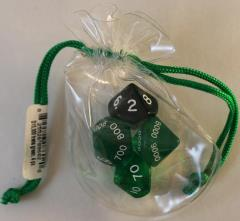 Hackmaster - D10,000 Green w/White (4)