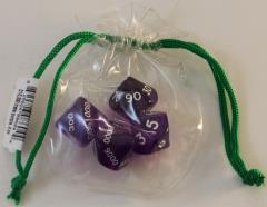 Hackmaster - D10,000 Purple w/White (4)