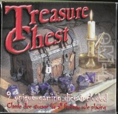 Treasure Chest w/Blue Poly Set (9)