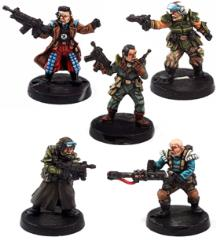 Glory Seekers Mercenaries Set #1