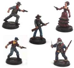 Old West Heroes Set #2