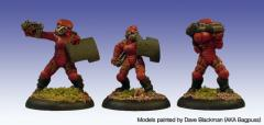 Cyclos in Environmental Battle Suits #1