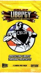 CBLDF Liberty Trading Cards Booster Pack