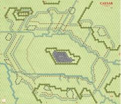 "Caesar at Alesia - 3/4"" Green"