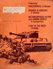 "#91 ""Fury in the West Strategy, Panzerkrieg, Swords & Sorcery"""