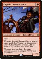 Captain Lannery Storm (R)
