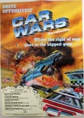 Car Wars Gamebooks Promo Poster - Drive Offensively