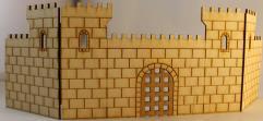 Castle Facade w/Portcullis