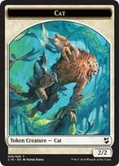 Cat // Soldier Double-sided Token (T)