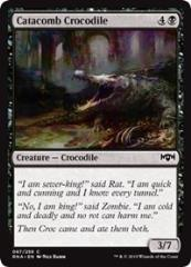 Catacomb Crocodile (C) (Foil)