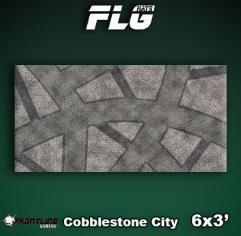 6' x 3' - Cobblestone City #1