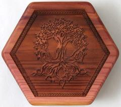 Aromatic Cedar - Beehive, Tree of Life