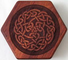 Purpleheart - Beehive, Celtic Knot