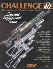 "#40 ""Special Equipment Issue, Space - 1889, Star Wars - Blaster Weapons"""