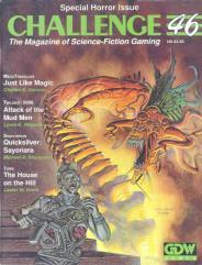 "#46 ""Megatraveller, Torg, Twilight - 2000 & Shadowrun Adventures"""