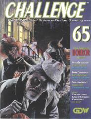"""#65 """"Special Horror Issue - MegaTraveller, Dark Conspiracy, Shadowrun"""""""