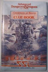 Champions of Krynn - Clue Book