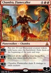 Chandra, Flamecaller (P) (Foil)