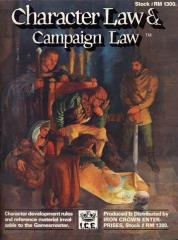 Character Law & Campaign Law (2nd Edition, 1st Printing)