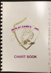 Replay Games Baseball Chart Book - White Cover