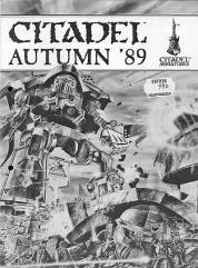 Citadel Miniatures Catalog Autumn 1989