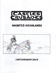 Haunted Highlands Cartography Pack (Kickstarter Exclusive)