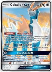 Cobalion GX (Ultra R) #106 (Holo)