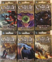 Call of Cthulhu CCG - Ancient Relics Cycle Collection
