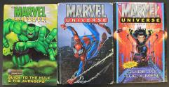 Marvel Universe Role Playing Game Complete Collection - 3 Books!