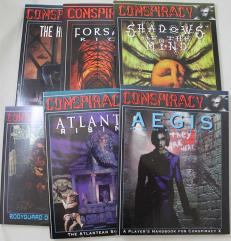 Conspiracy X Supplement Collection - 6 Books!