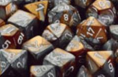 D10 Copper & Steel w/White (10)