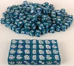 Coral Elf Collection - 48 Dice!