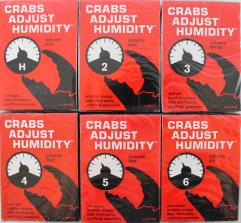Crabs Adjust Humidity Collection - Volumes 1 through 6!