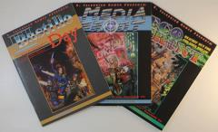 CyberGeneration Supplement Collection - 3 Books!