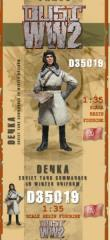 Soviet Tank Commander in Winter Uniform - Denka