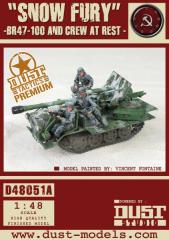 BR47-100 - Snow Fury, Zverograd Pattern (Premium Edition)