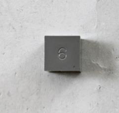 d6 Grey (12) (Plain)
