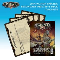 Faction Specific Secondary Objective Deck 2017