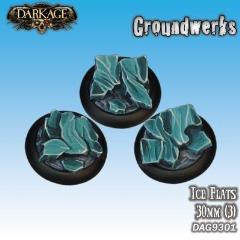 30mm Groundwerks Base Inserts - Ice Flats