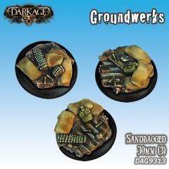 30mm Groundwerks Base Inserts - Sandbagged