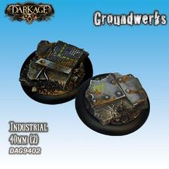 40mm Groundwerks Base Inserts - Industrial